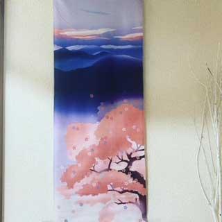 桜満開でサロンに春到来